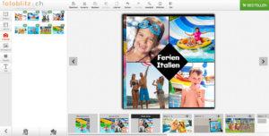 Einfacher Konfigurator für Ihre Fotobücher